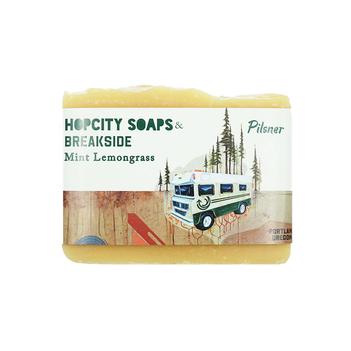 Mint Lemongrass Soap by Hop City Soaps