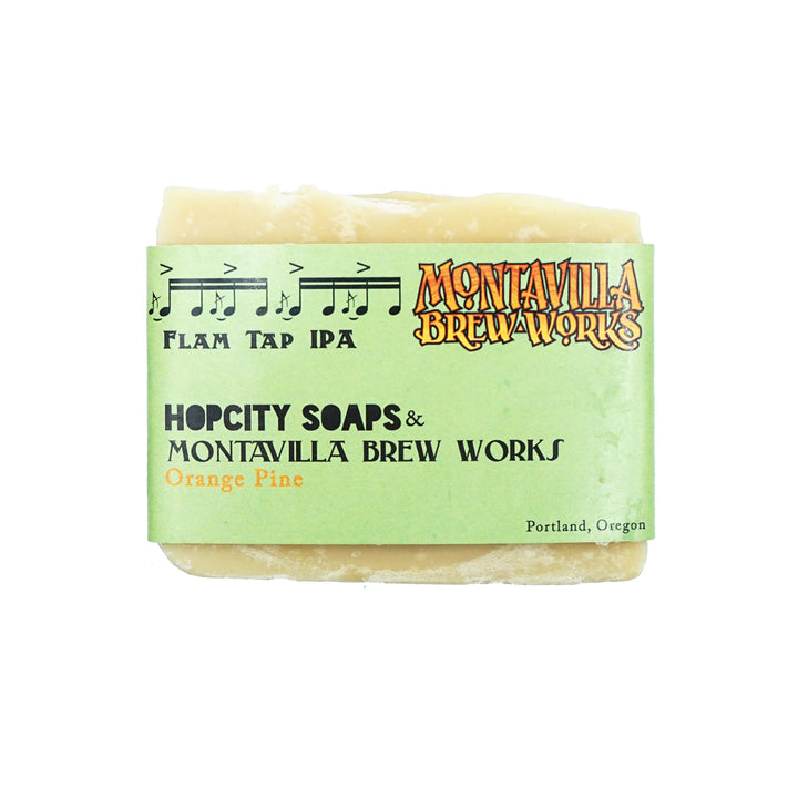 Orange Pine IPA Soap by Hop City Soaps