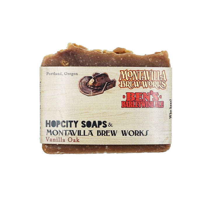 Vanilla Oak Barley Wine Soap by Hop City Soaps