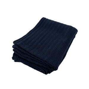 Ribbed Knit Oversized Throw by House of Castellon
