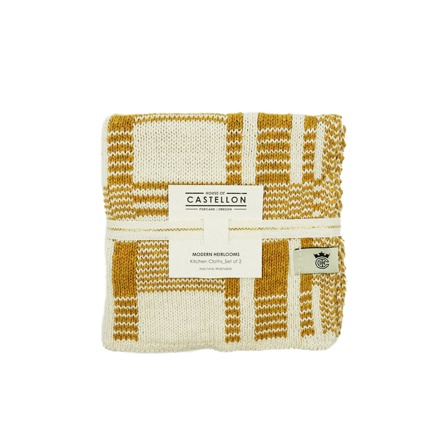 Dish Cloth Set of 2 by House of Castellon