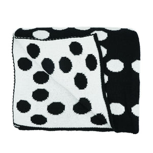 Recycled Cotton Dots Throw by House of Castellon