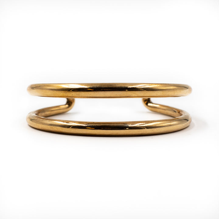 Uli Double Band Bracelet Bronze by Minoux