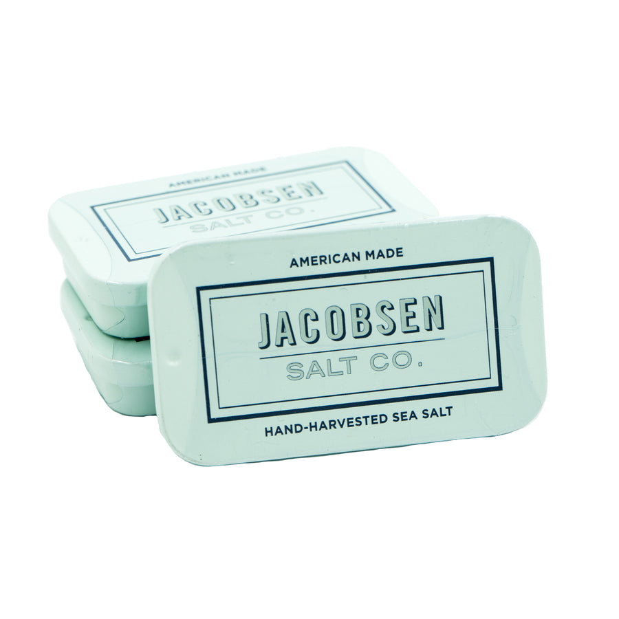 Slide Salt Tin by Jacobsen Salt Co.