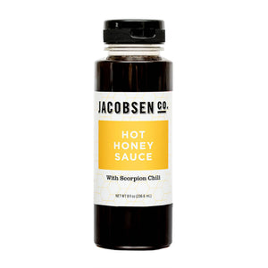 Jacobsen Co. Hot Honey Sauce
