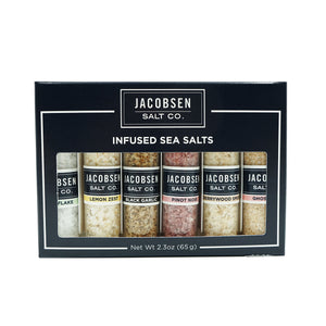 Jacobsen Salt Co. Infused Six-Vial Set