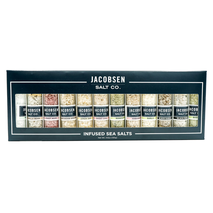 Jacobsen Salt Co. Infused Salt Set
