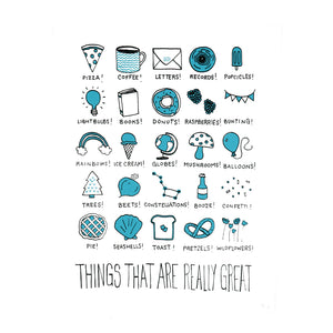 Really Great Things Print