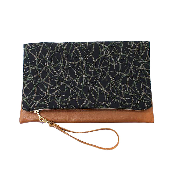 Foldable Leather Clutch