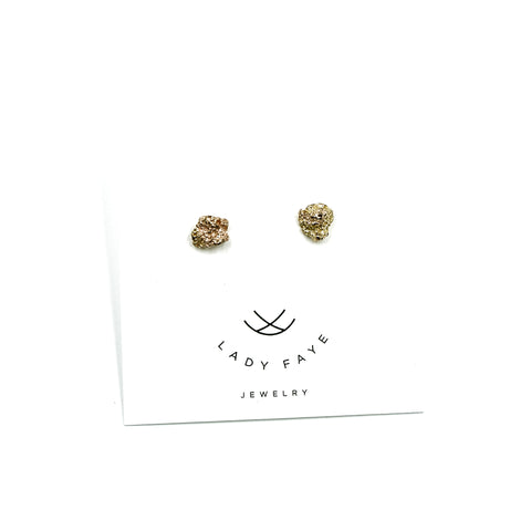 Volcan 14k Yellow Gold Earrings