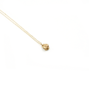 Volcan 14k Yellow Gold Necklace by Lady Faye
