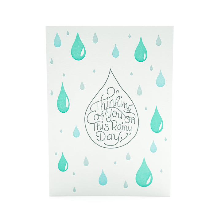 On This Rainy Day Card