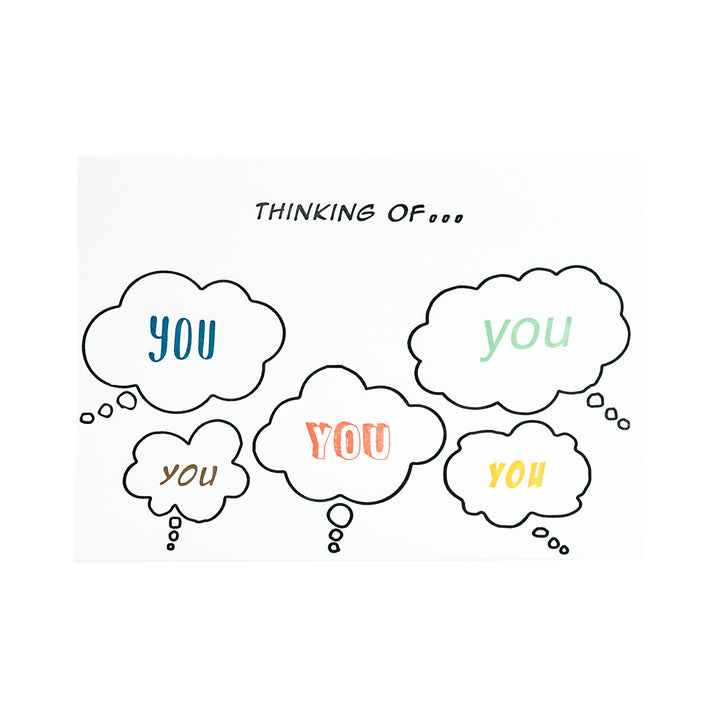 Thinking of You Thought Bubbles Card