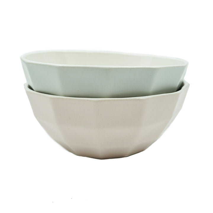 Dual Color Channel Bowl + Pairing Spoon by Luke & Lucy