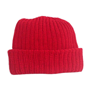 MadeHere Knit Beanie Red