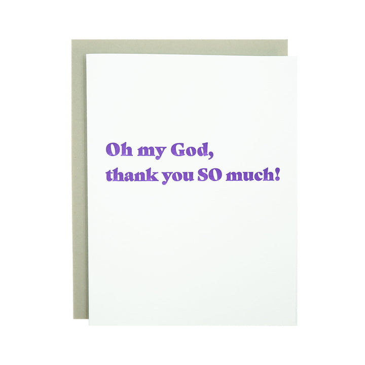 Oh My God Card by MadeHere