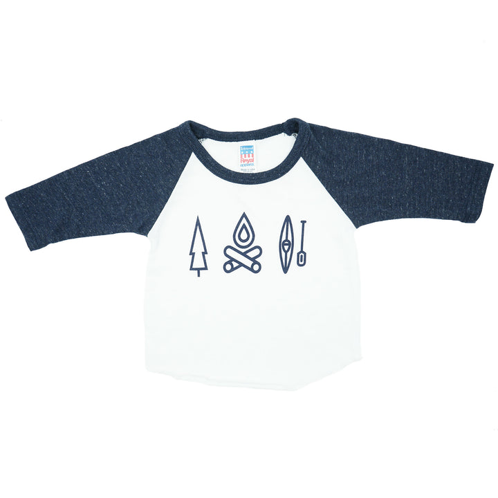 Outdoors Icons Kids Shirt by MadeHere PDX