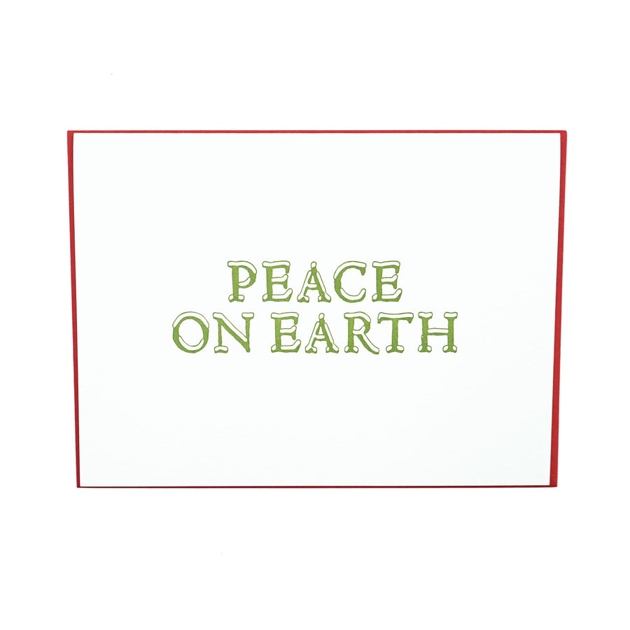 Peace on Earth Holiday Card Boxed Set by MadeHere PDX