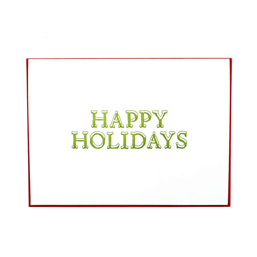 Happy Holidays Holiday Card Boxed Set by MadeHere PDX