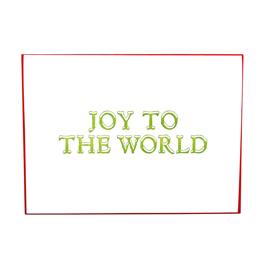 Joy to the World Holiday Card Boxed Set by MadeHere PDX