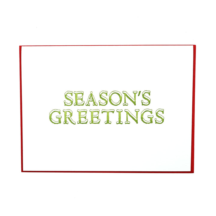 Season's Greetings Holiday Card Boxed Set by MadeHere PDX