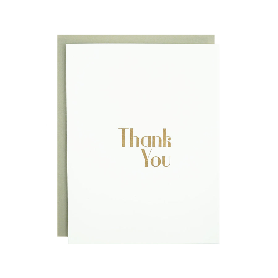 Thank You Card by MadeHere