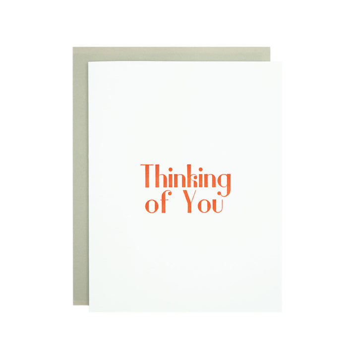 Thinking of You Card by MadeHere
