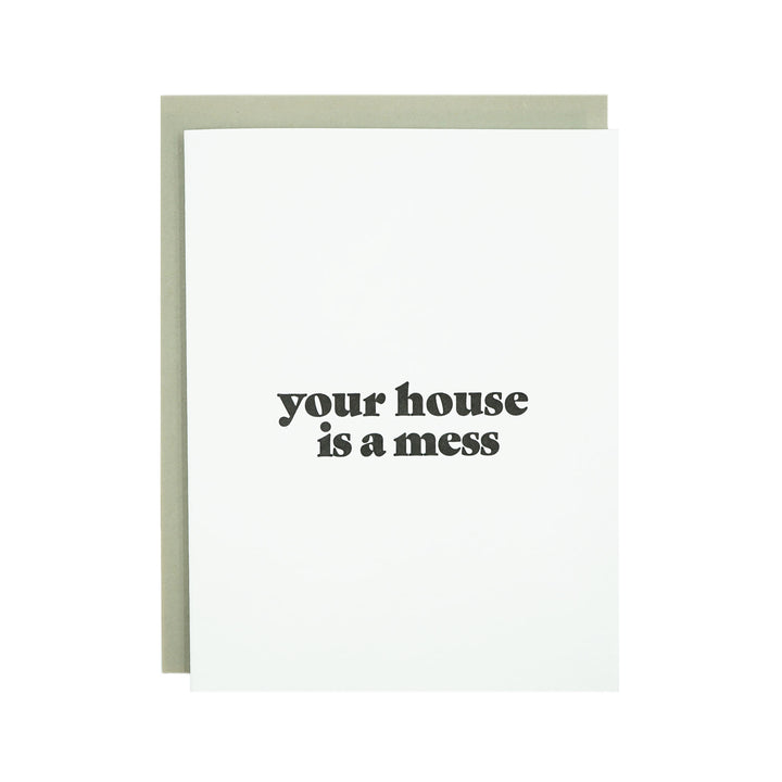 Your House Card by MadeHere