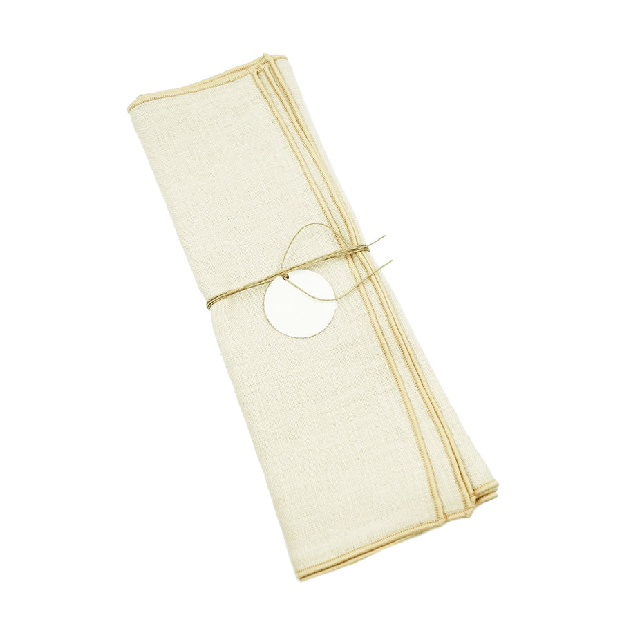 Madre Small Napkin Bone Bone