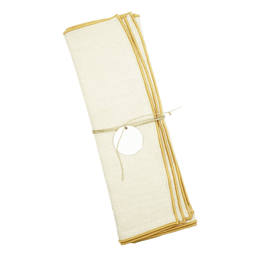 Madre Small Napkin Set Bone Tea