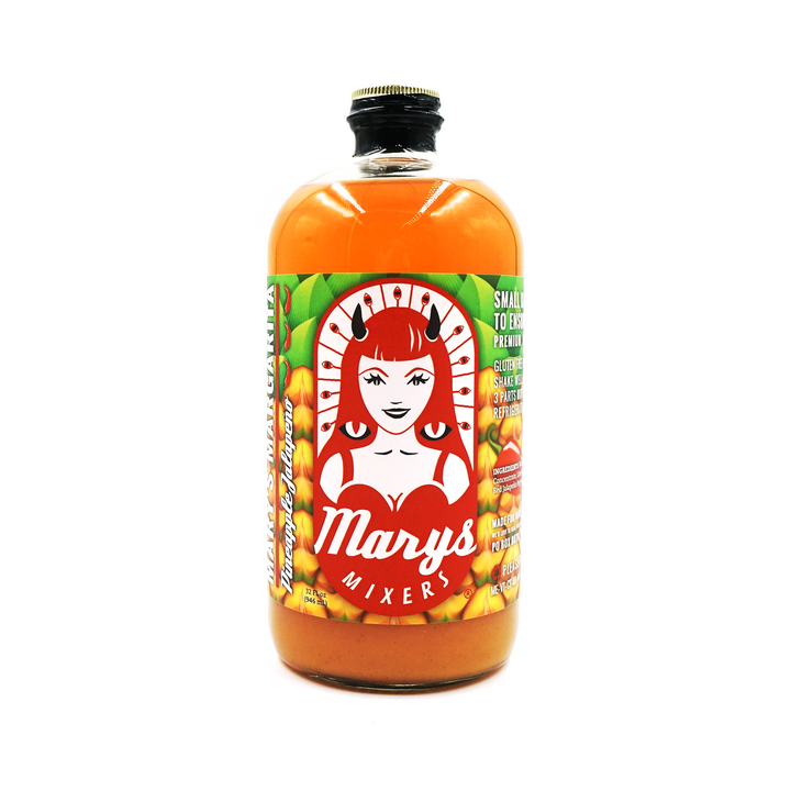 Pineapple Jalapeño Margarita Mix 32oz by Mary's Mixers