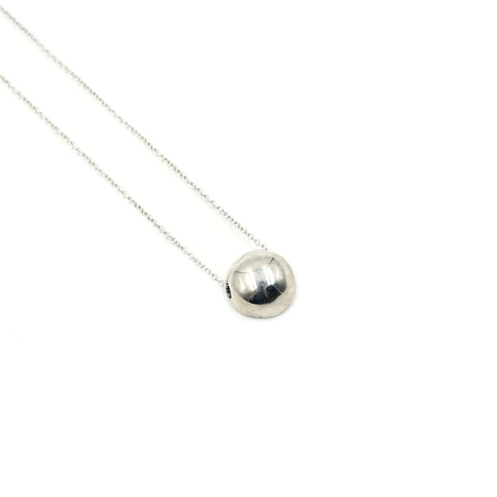 Silver Dot Necklace by Minoux