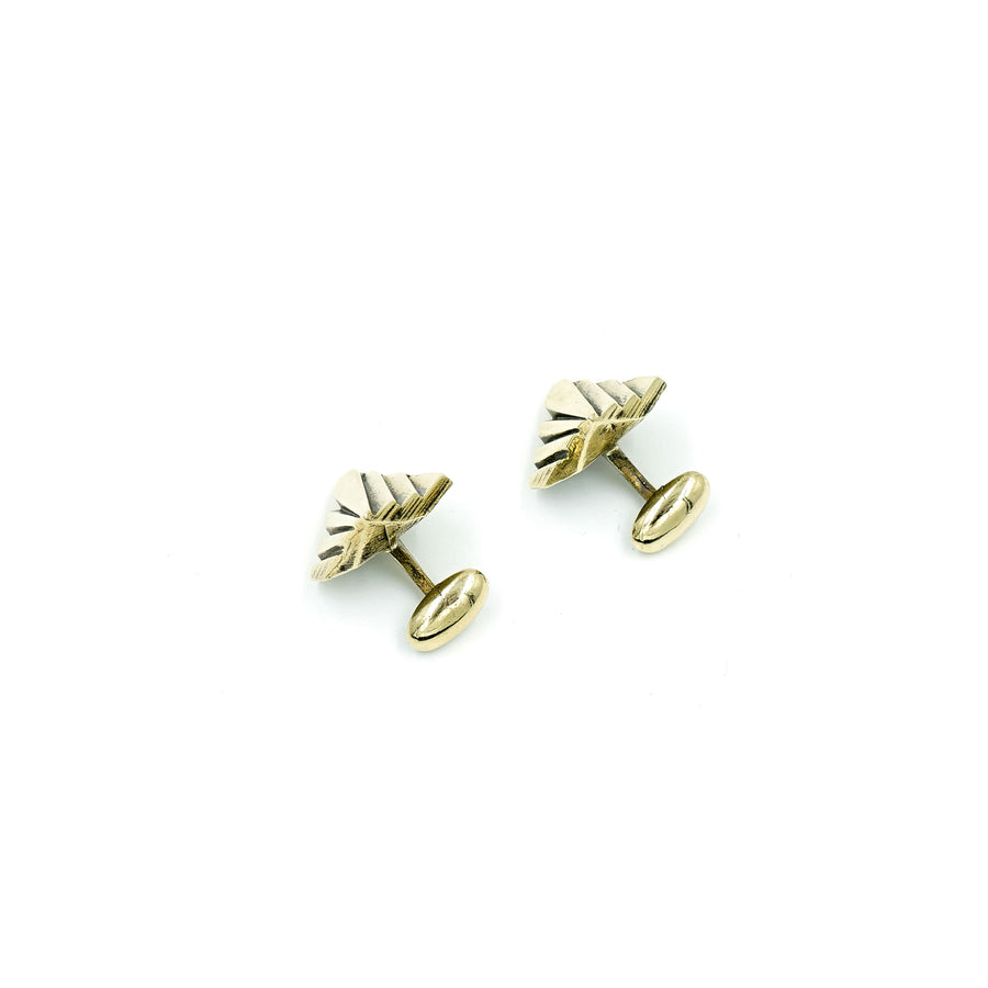 Mohs Brass Cufflinks
