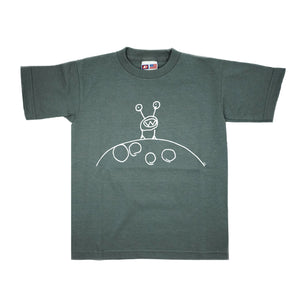 Moon Man Youth Tee by Monster Tees Inc.