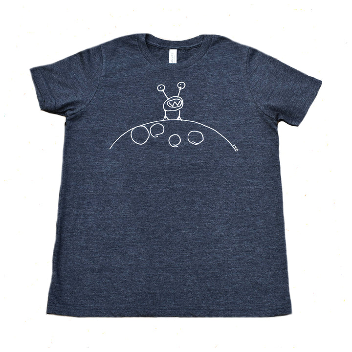 Moon Man Adult Tee by Monster Tees Inc.