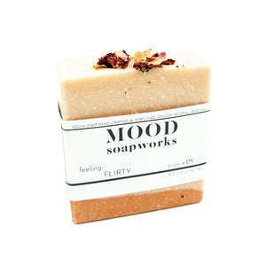 Flirty Bar Soap by MOOD Soapworks