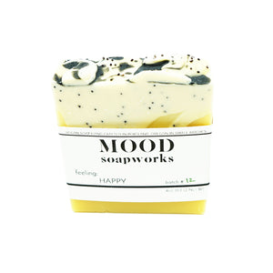 Happy Bar Soap by MOOD Soapworks