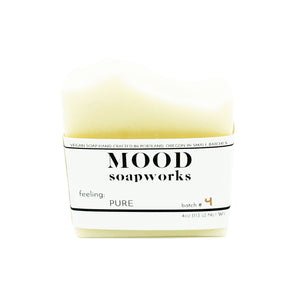 Pure Bar Soap by MOOD Soapworks