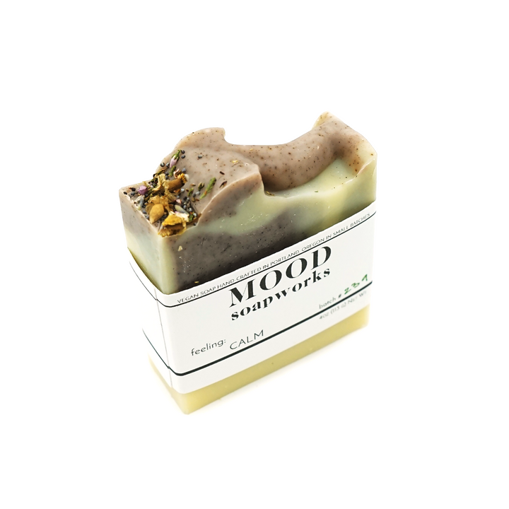 Calm Bar Soap by MOOD Soapworks