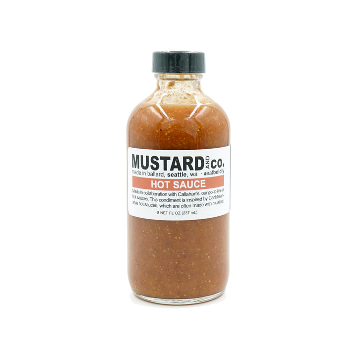Mustard Hot Sauce by Mustard & Co.