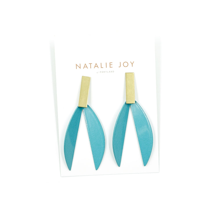 Lotus Earrings by Natalie Joy