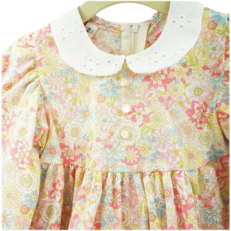 Light Pastel Floral Dress