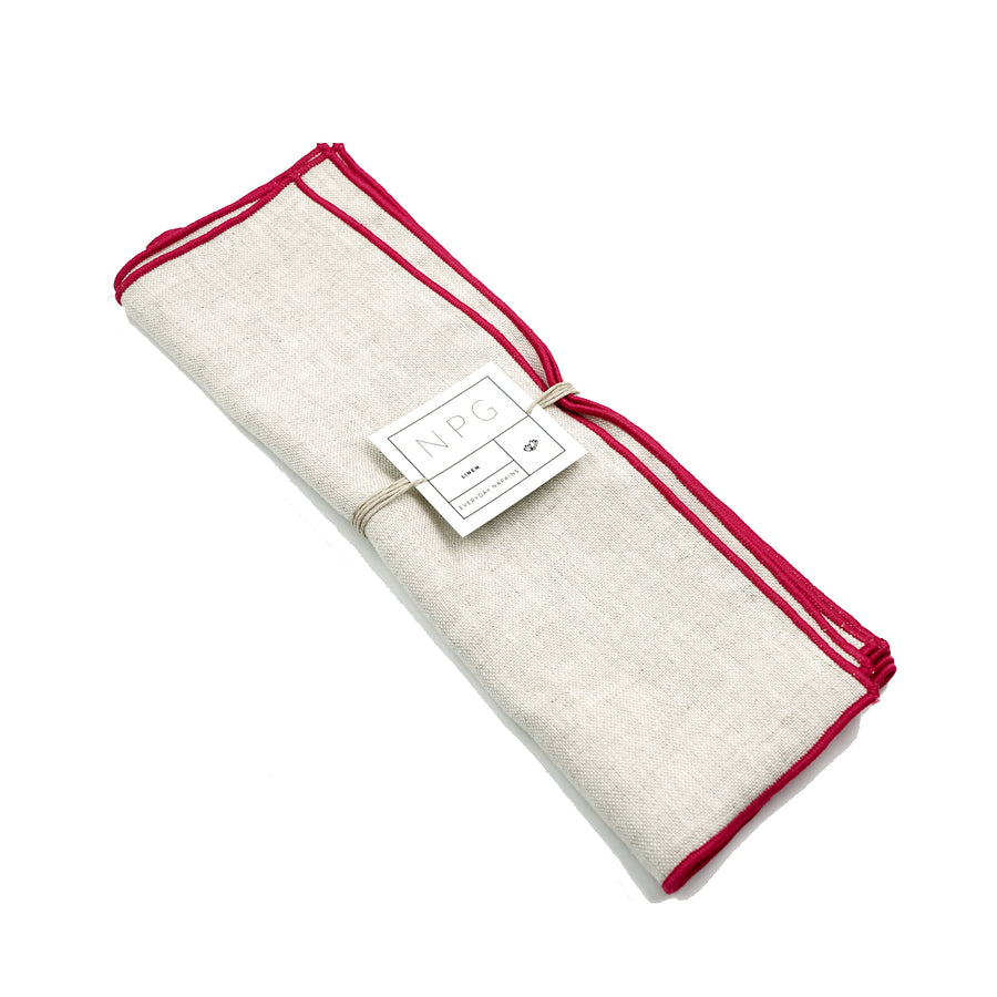 Small Linen Napkin Set Madre