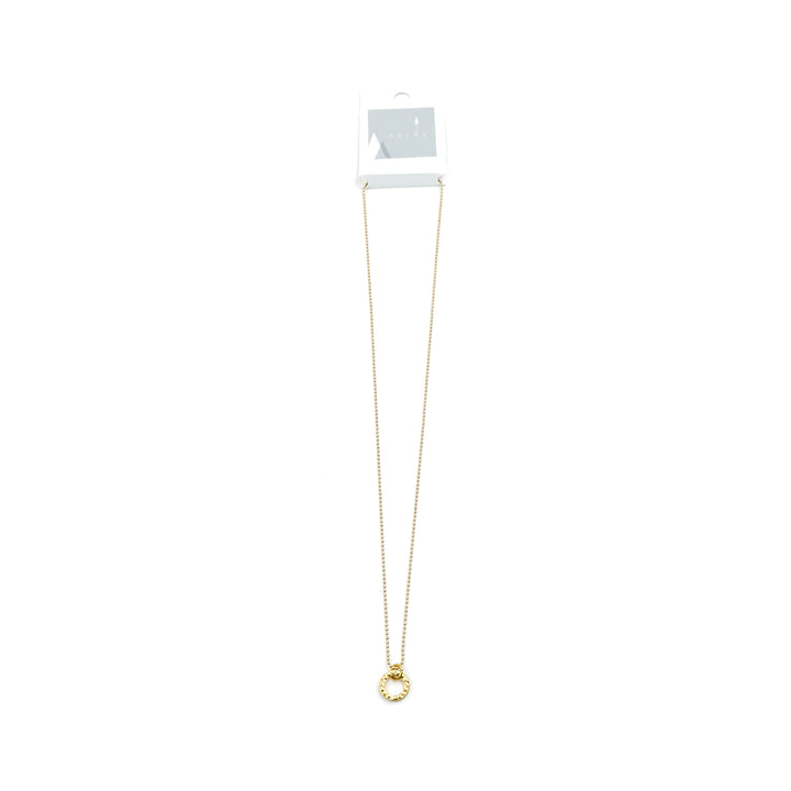 Lyse Gold Plated Brass Necklace