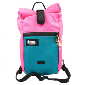 North St. Davis Daypack Teal Hot Pink
