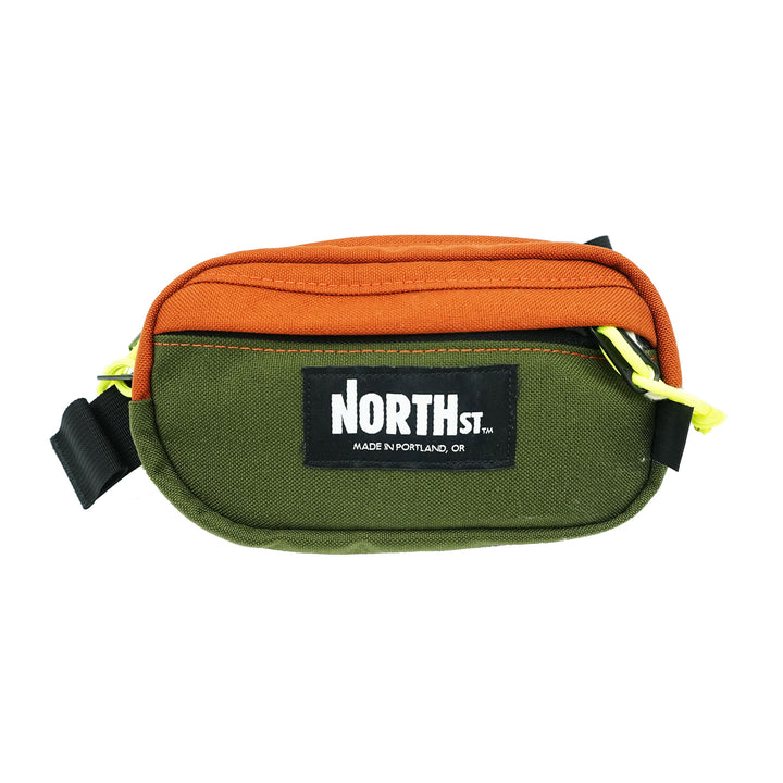 North St. Pioneer 8 Hip Pack Olive Copper