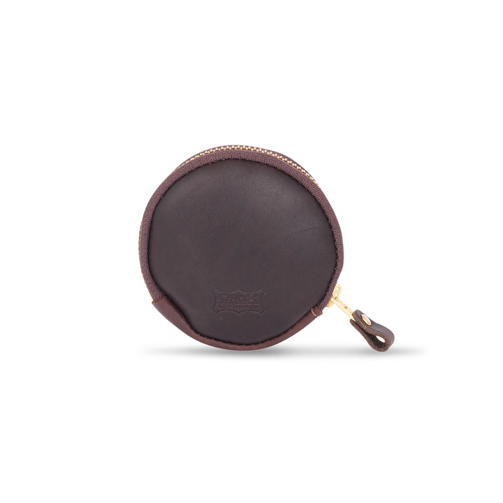 Circular Pouch by Orox Leather Co.
