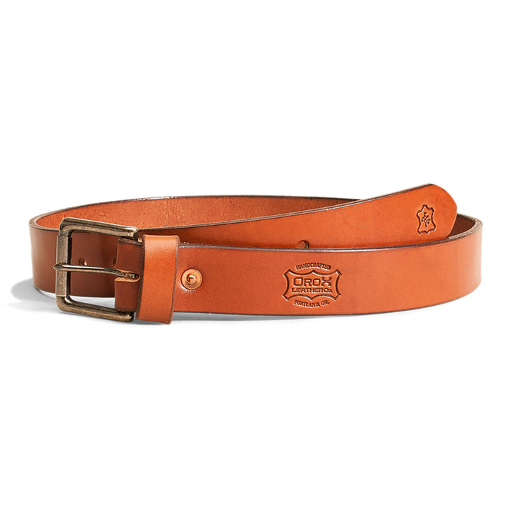 "1 1/2"" Classic Rolling Buckle Belt by Orox"