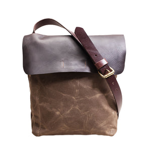 Courier Satchel by Orox Leather Co.