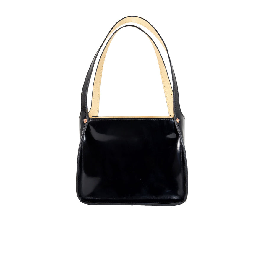 Jane Tote by Orox Leather Co. Obsidian